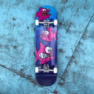 SR x Nolart Phishing Complete Skateboard